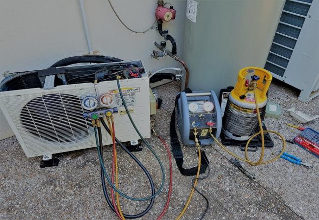 refrigerant recovery